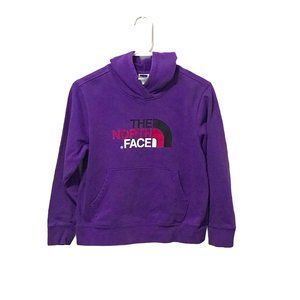 The North Face Youth Purple Hoodie LG